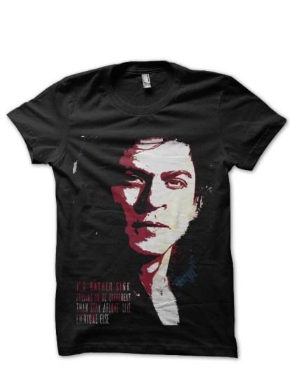 srk1 black t shirt