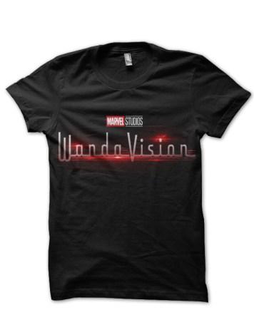 wandavision black tshirt