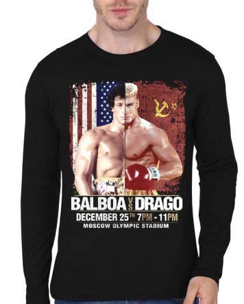 balboa vs drago t-shirt