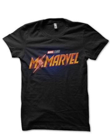 ms marvel black tshirt