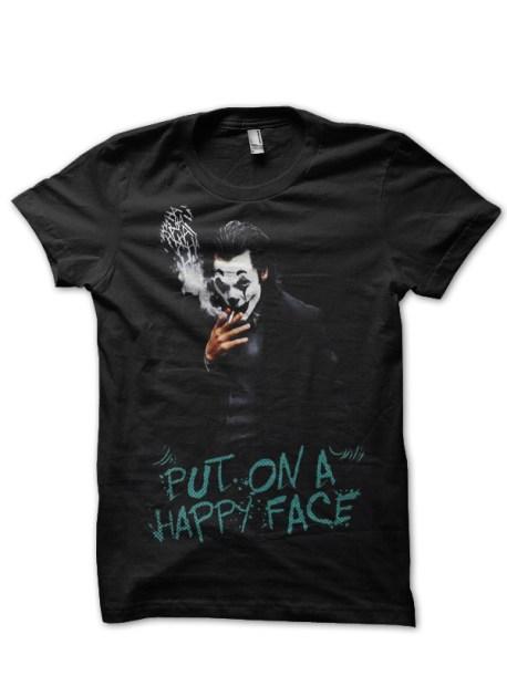 joker put on a happy face tshirt