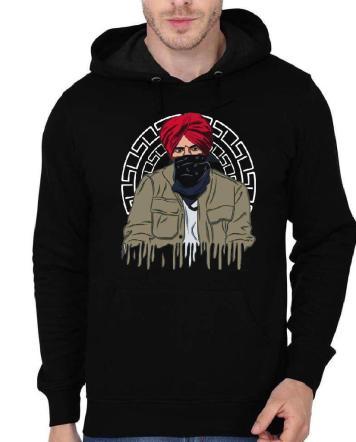 Sidhu Moose Black Hoodie