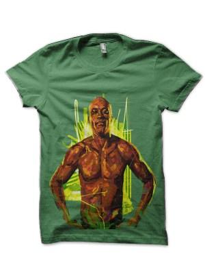 Anderson Silva Green T-Shirt