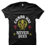 Cobra Kai Never Die Black T-Shirt