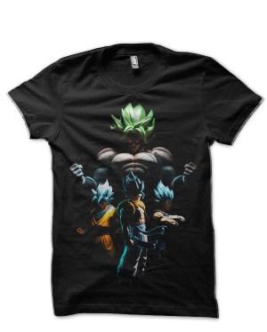 Dragon Ball Z Broly Black T-Shirt