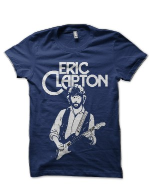 Eric Clapton Navy Blue T-Shirt