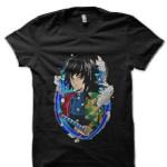 Giyu Demon Slayer Black T-Shirt