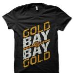 Gold Bay Bay Gold Adam Cole Black T-Shirt