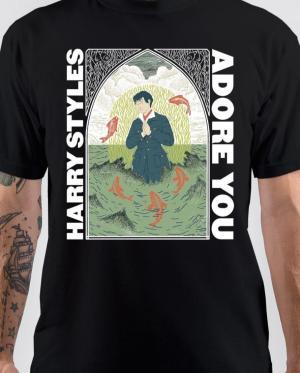 Harry Styles Black T-Shirt