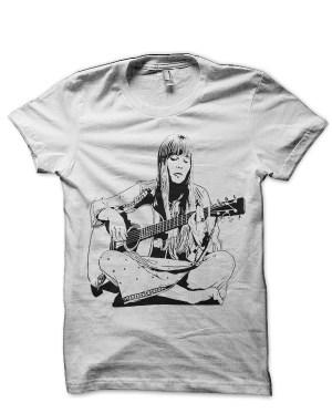 Joni Mitchell White T-Shirt