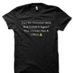 Coronavirus Black T-Shirt
