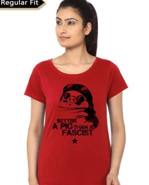 Porco Rosso Better A Pig Than A Fascist T-Shirt