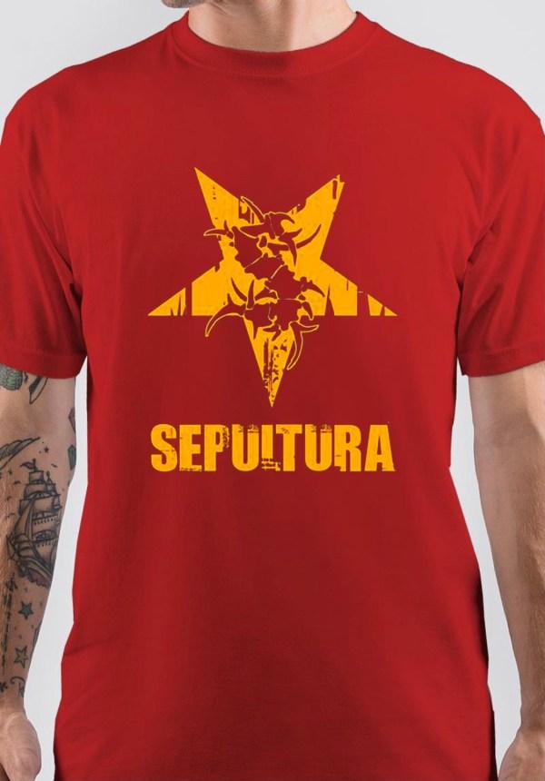 Sepultura Band Logo T-Shirt