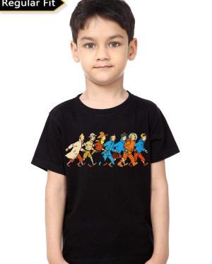 The Adventure Of Tintin Kids T-Shirt