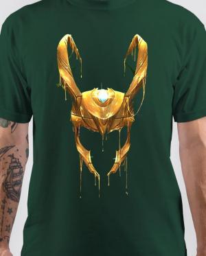 loki helmet T-Shirt