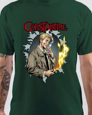 John Constantine Green T-Shirt