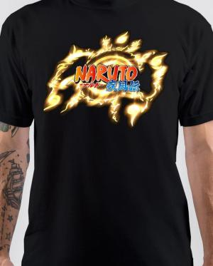 naruto black T-Shirt