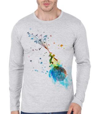 Little prince Watercolour full sleeve T-ShirtLittle prince Watercolour full sleeve T-Shirt