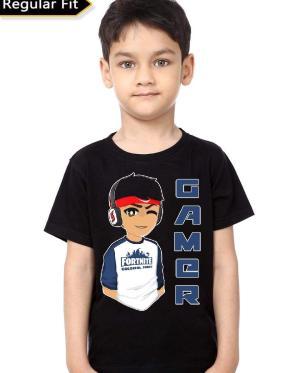 Gamer Black Kids T-Shirt