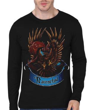 Ravenclaw Black Full Sleeve T-Shirt
