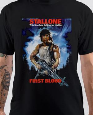 Stallone First Blood T-Shirt