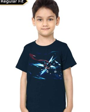 Ash-Greninja Kids T-Shirt