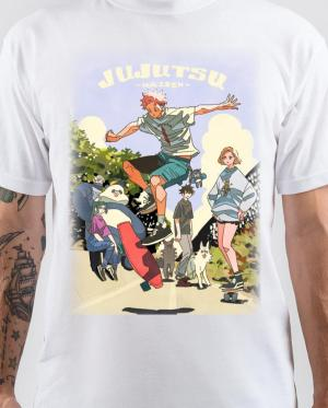 Jujutsu Kaisen White T-Shirt