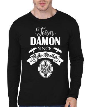 Team Damon Since Full Sleeve T-Shirt