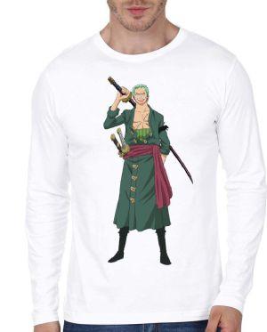 Roronoa Zoro Full Sleeve T-Shirt
