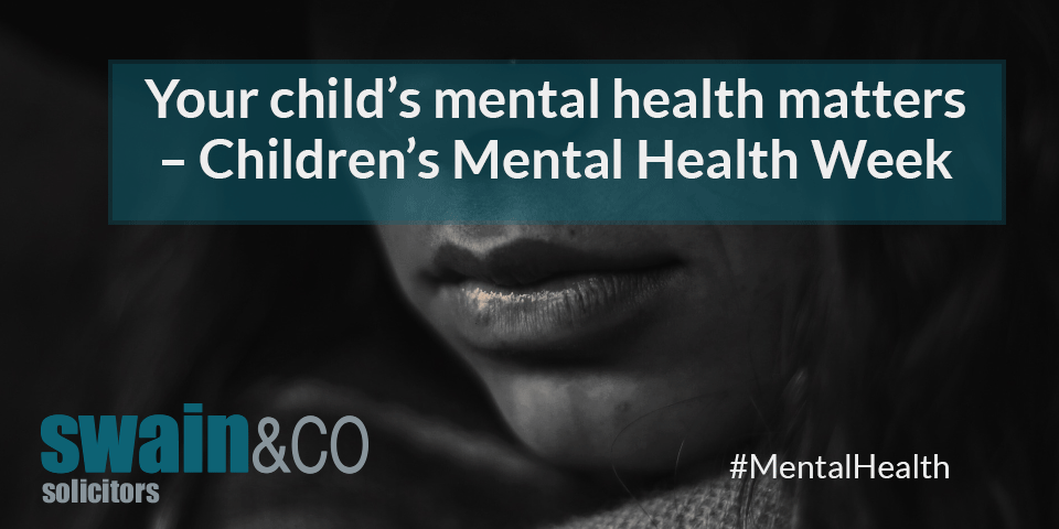 Your child's mental health matters – Children's Mental Health Week