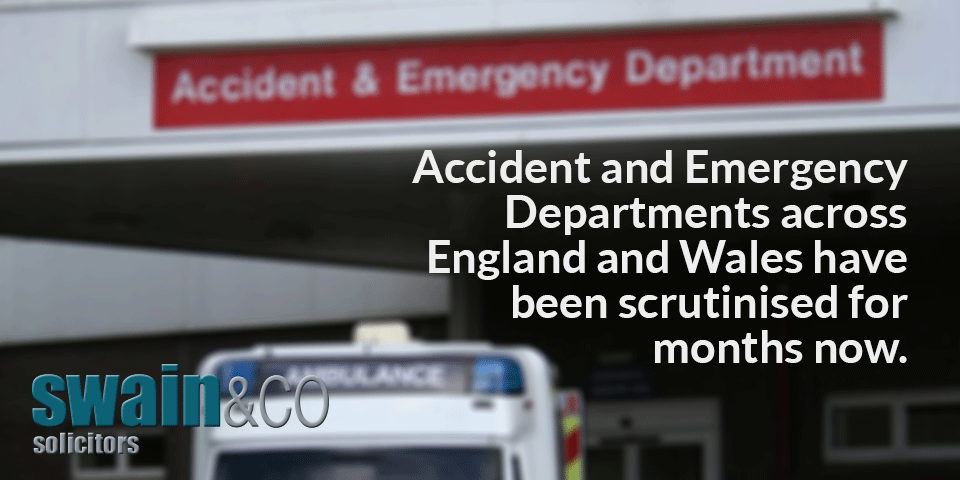 The never ending Accident and Emergency Department drama