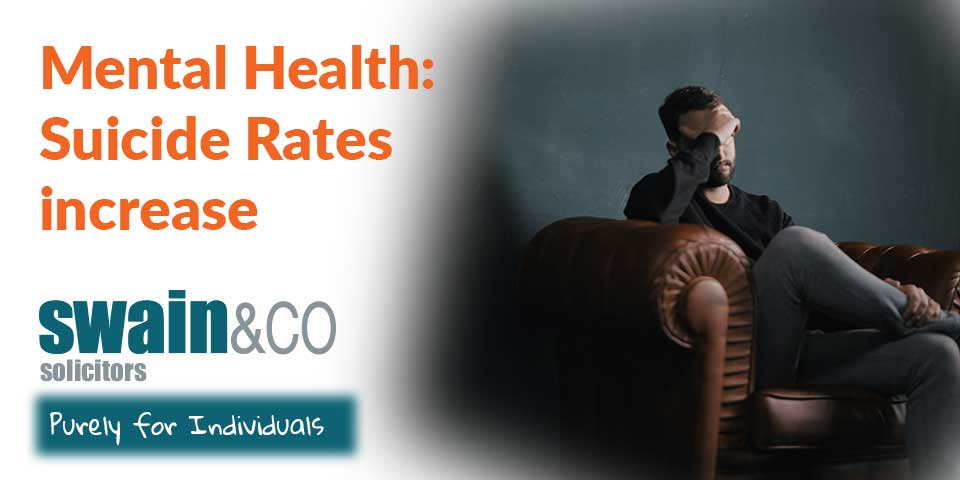 Mental Health: Suicide Rates increase