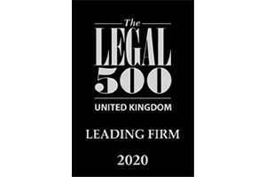 Legal 500 | Leading Firm | Swain & Co Solicitors