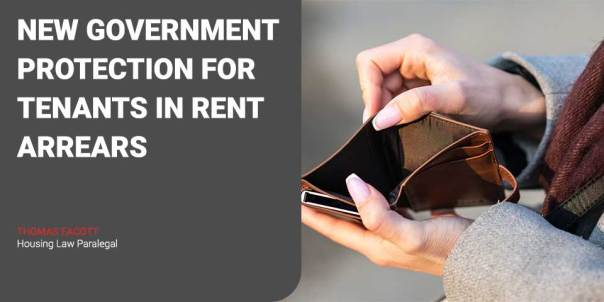 New Government Protection for Tenants in Rent Arrears