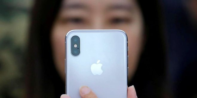 تقارير خفض انتاج الايفون اكس تهوي بقيمة أسهم ابل