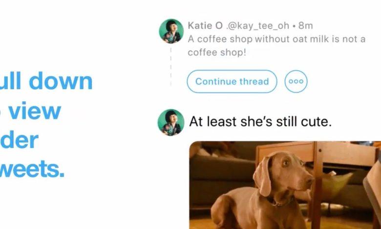 تويتر تطرح طريقة جديدة لربط تغريدة جديدة بتغريدات سابقة