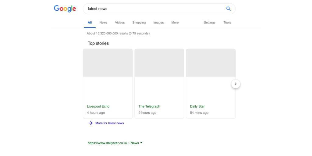 هكذا سيبدو محرك بحث جوجل مع تطبيق تعليمات الاتحاد الاوروبي الجديدة 1
