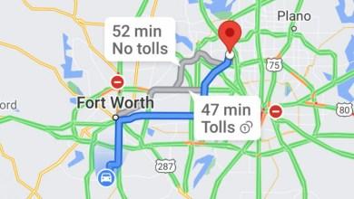 خرائط جوجل سيعرض قريبا مبالغ الرسوم التي ستدفعها على الطريق