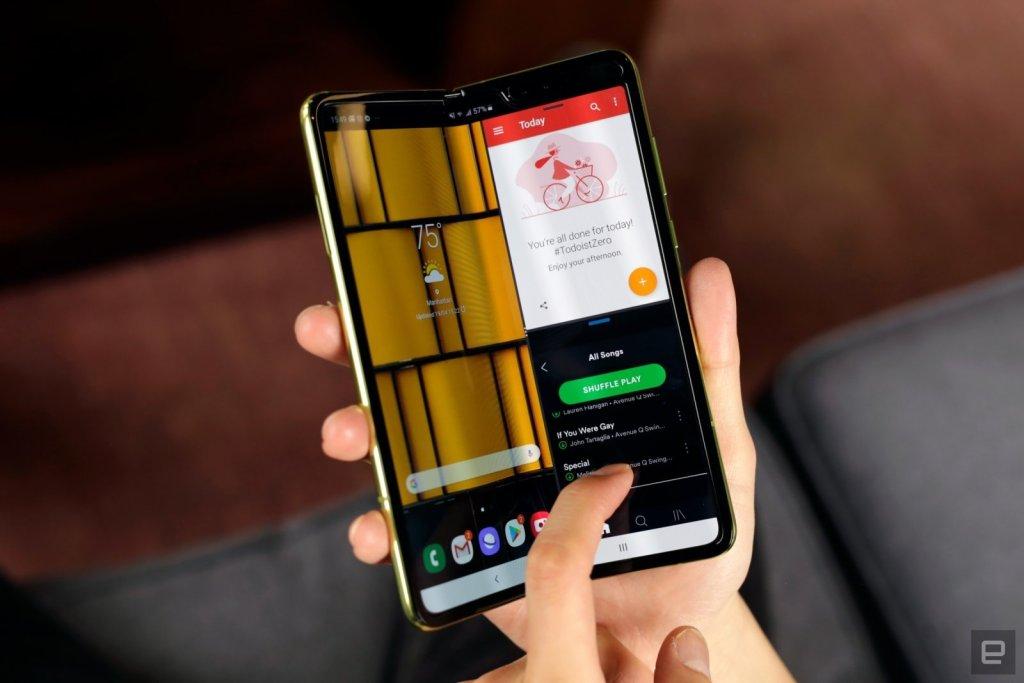 سامسونج تؤجل رسمياً إطلاق مبيعات هاتفها القابل للطي
