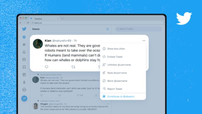 Birdwatch اداة تويتر الجديدة للسيطرة على الاخبار المزيفة 1