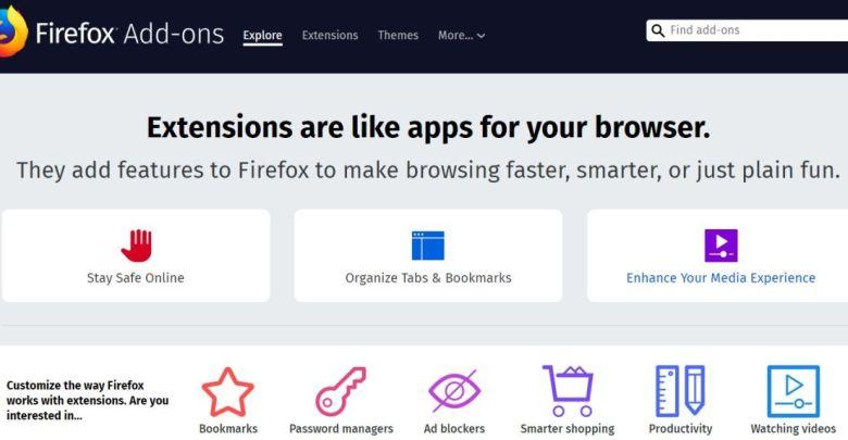 لست وحدك : اضافات متصفح فايرفوكس معطله على نطاق عالمي