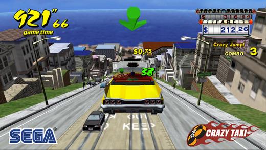 [وفّر 5 دولار] لعبة Crazy Taxi متاحه مجانا للايفون والايباد 2