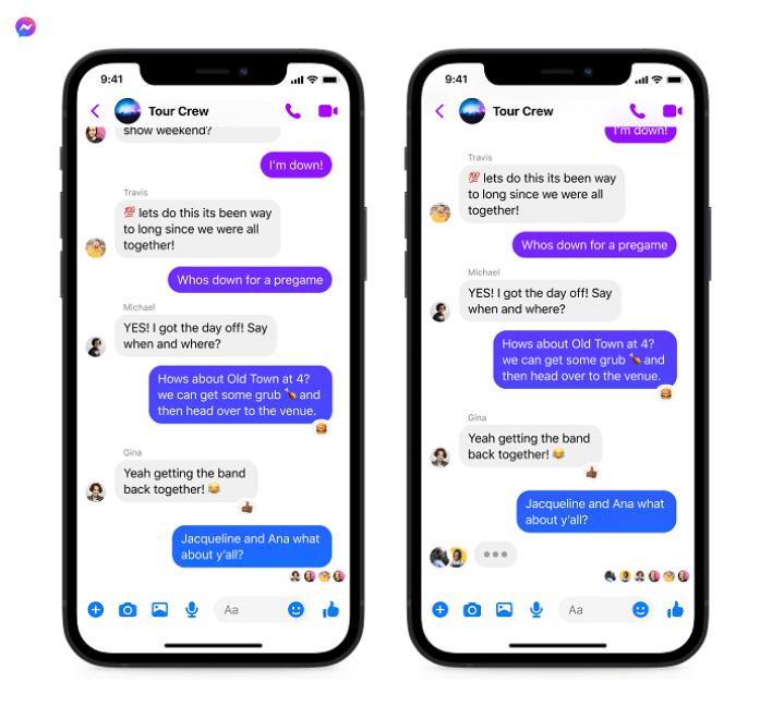 فيس بوك يعزز تطبيقاته الرئيسية بـ 3 مزايا جديدة 1