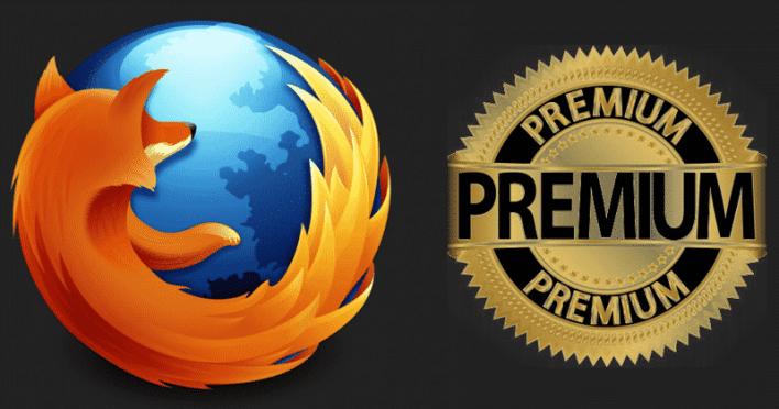 موزيلا تخطط لاطلاق نسخة مدفوعة من فايرفوكس