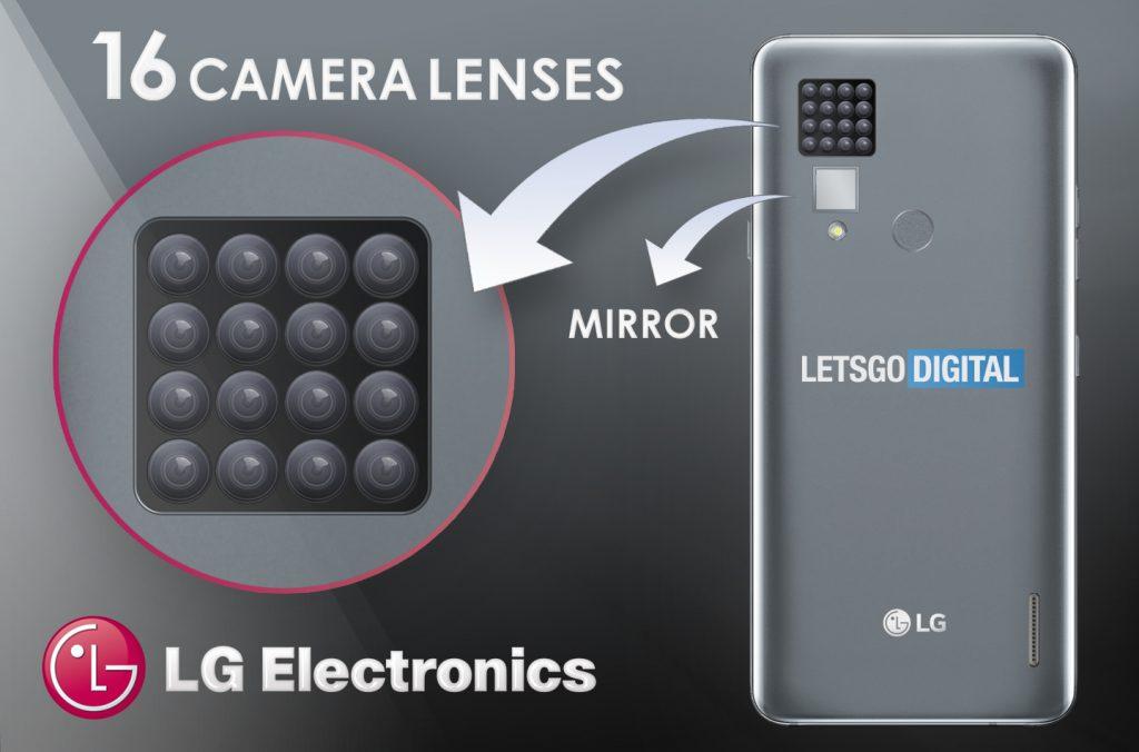 مين يزود ؟ ال جي تطور هاتف ذكي بـ 16 كاميرا