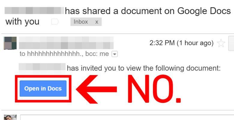 هجوم الكتروني يخترق مليون حساب على بريد جيميل عبر تطبيق Google Docs 1