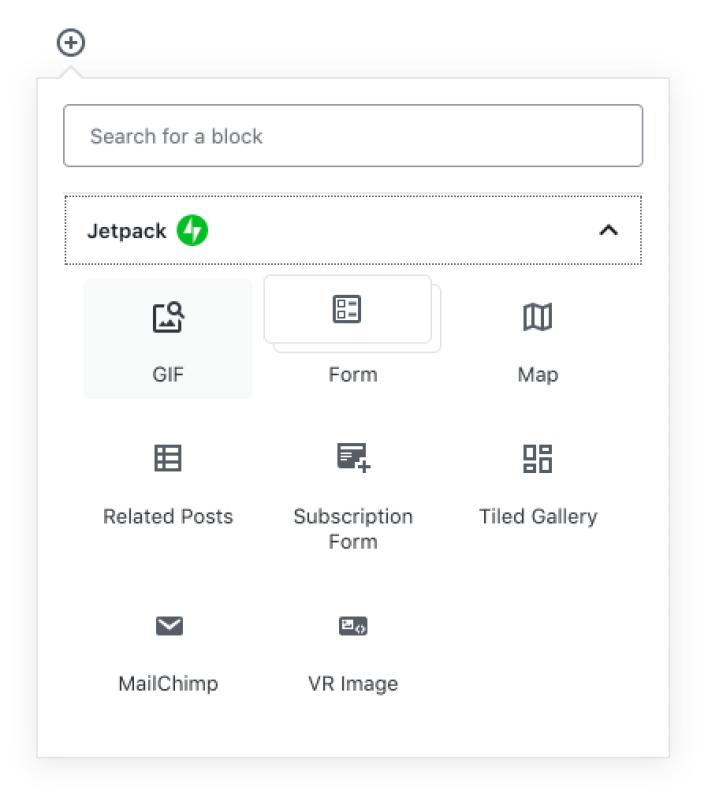 كيفية إضافة بلوك الصور المتحركة (GIF Block) لمحرر الووردبريس 1