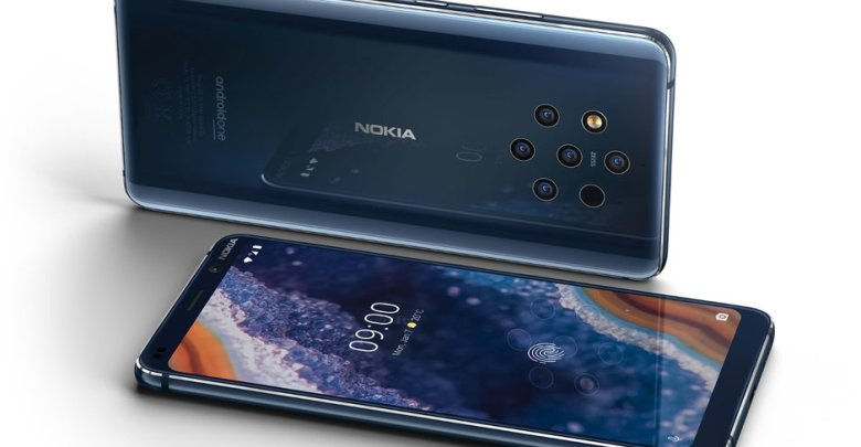 Nokia 9 PureView رسمياً أول هاتف بخمس كاميرات خلفية
