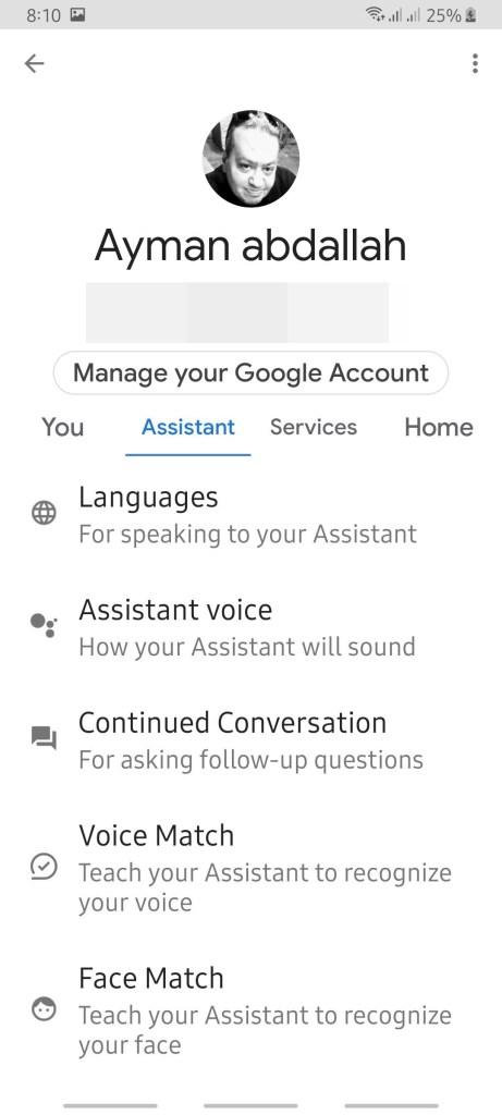 كيف تختار نموذج الصوت في مساعد جوجل Google Assistant 5