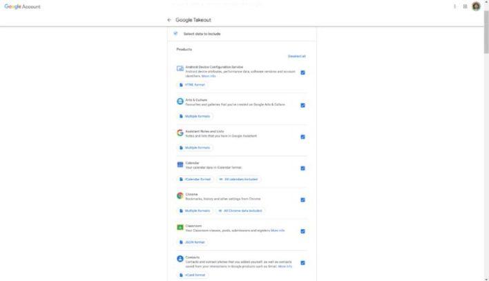 Google Takeout: كيف تحصل على نسخة من كل بياناتك في جوجل بأسهل طريقة 1